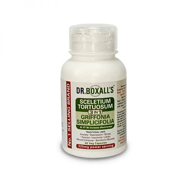 Dr Boxall's - Sceletium Griffonia VitB6 3in1 60s - wellness supplement