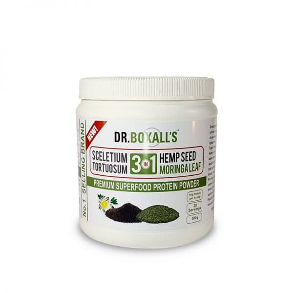 Dr Boxall's - Sceletium Moringa & Hemp Powder 300g - wellness supplement