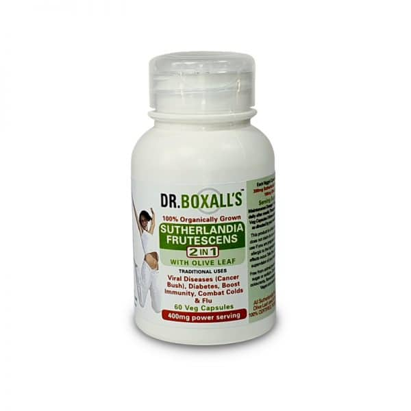 Dr Boxall's - Sutherlandia with Olive Leaf 60's - wellness supplement